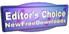 New Free Downloads Awarded Editors Choice